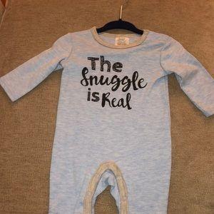 Baby Boy Long Sleeve Bodusuit